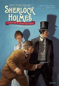 Arthur Conan Doyle et Christel Espié - Deux enquêtes de Sherlock Holmes - L'aventure du ruban moucheté suivie du Diadème de béryls.