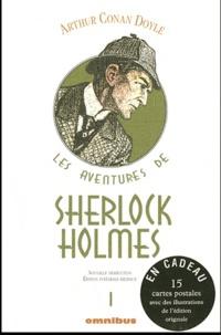 Arthur Conan Doyle - Les aventures de Sherlock Holmes Tome 1 : Une étude en rouge ; Le signe des quatre ; Les aventures de Sherlock Holmes ; Les mémoires de Sherlock Holmes (I) - Avec 15 cartes postales.