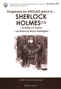 Deedr.fr Progressez en anglais grâce à Sherlock Holmes - Tome 12, La Boîte en carton ; Les Plans du Bruce-Partington Image
