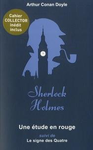Arthur Conan Doyle - Une étude en rouge - Suivi de Le signe des Quatre.