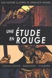 Arthur Conan Doyle et Ian Edginton - Une histoire illustrée de Sherlock Holmes Tome 2 : Une étude en rouge.
