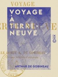 Arthur de Gobineau - Voyage à Terre-Neuve.