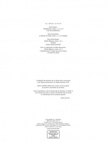 Zombillénium Tome 1 Gretchen