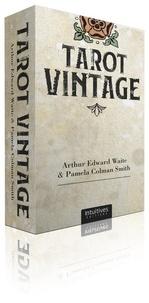 Arthur Edward Waite et Smith pamela Colman - Coffret Tarot Vintage - Avec 78 cartes et 1 livre d'accompagnement.