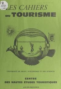Arthur Haulot - Tourisme et société.