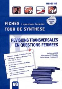 Arthur James et Alexandre Ceccaldi - Révision transversales en questions fermées.
