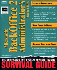 Histoiresdenlire.be MICROSOFT BACK OFFICE 2. Administrator's survival guide, avec un CD-ROM, 2nd edition, édition en anglais Image