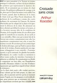 Arthur Koestler - Croisade sans croix.