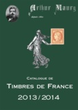 Arthur Maury - Catalogue de timbres de France 2014.