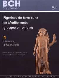 Arthur Muller et Ergün Lafli - Figurines de terre cuite en Méditerranée grecque et romaine - Volume 1, Production, diffusion, étude.