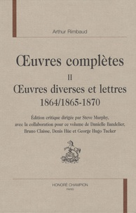 Oeuvres complètes - Tome 2, Oeuvres diverses et lettres 1864/1865-1870.pdf