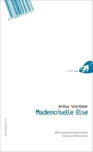 Arthur Schnitzler - Mademoiselle Else/Fräulein Else.
