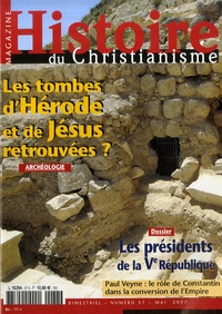 Article de PRESSE - Histoire du christianisme N° 37, mai 2007 : HISTOIRE DU CHRISTIA.