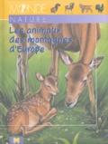 Arturo Arzuffi - Les animaux des montagnes d'Europe.