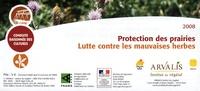 Arvalis - Institut du végétal - Protection des prairies - Lutte contre les mauvaises herbes.