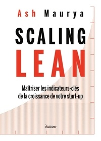 Histoiresdenlire.be Scaling Lean - Maîtriser les indicateurs-clés de la croissance de votre start-up Image