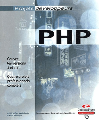 Ashish Wilfred et Meeta Gupta - PHP 4.
