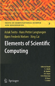 Aslak Tveito et Hans Petter Langtangen - Elements of Scientific Computing.