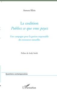 Asmara Klein - La coalition Publiez ce que vous payez - Une campagne pour la gestion responsable des ressources naturelles.