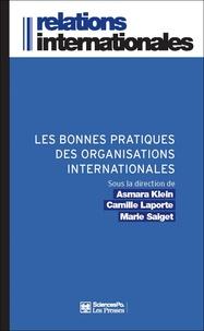 Asmara Klein et Camille Laporte - Les bonnes pratiques des organisations internationales.