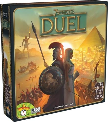 Jeu 7 Wonders - Duel