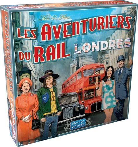 Jeu Les Aventuriers du Rail Londres