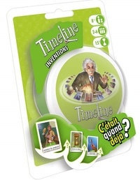 ASMODEE - Jeu Timeline Inventions sous blister