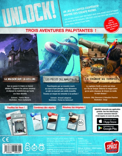 Jeu Unlock! 2- Mystery Adventures