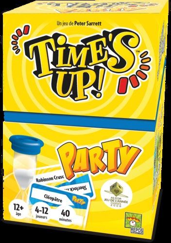 TIME'S UP! PARTY 1 JAUNE -  NOUVEAU FORMAT