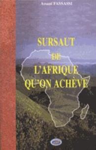 Assani Fassassi - Sursaut de l'Afrique qu'on achève.