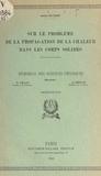 Assène Datzeff et Gustave Ribaud - Sur le problème de la propagation de la chaleur dans les corps solides.