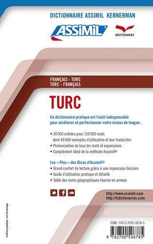 Dictionnaire turc-français et français-turc
