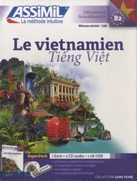 Dô-Thê Dung et Thuy-Lê Thanh - Superpack Le vietnamien sans peine : Tiêng Viêt. Débutants et faux-débutants - Contient : 1 livre, 1 clé USB. 2 CD audio
