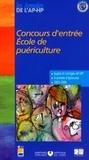 Assistance Publique-HP - Concours d'entrée Ecole de puériculture - Epreuves de sélection 2003-2006.