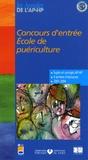 Assistance Publique-HP - Concours d'entrée Ecole de puériculture - Epreuves de sélection 2001-2004.