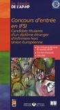 Assistance Publique-HP - Concours d'entrée en IFSI - Candidats titulaires d'un diplôme étranger d'infirmier hors Union Européenne.