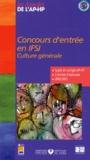 Assistance Publique-HP - Concours d'entrée en IFSI - Culture générale, sujets et corrigés 2002-2003.