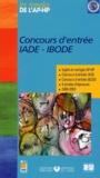 Assistance Publique-HP - Concours d'entrée IADE-IBODE - Sujets et corrigés 2000-2003.