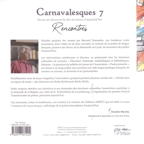 Carnavalesques N° 7 Rencontres
