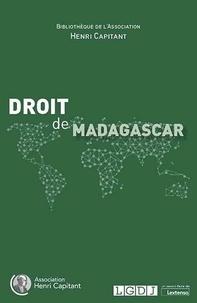 Association Henri Capitant - Droit de Madagascar.