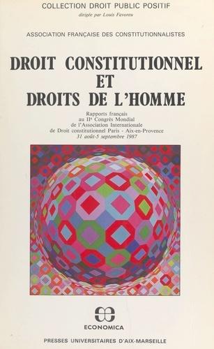 Droit constitutionnel et droits de l'homme : rapports français