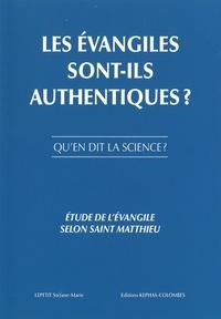 Association Kephas-Colombes - Les évangiles sont-ils authentiques ? Qu'en dit la science ? - Etude de l'évangile selon Saint-Matthieu.