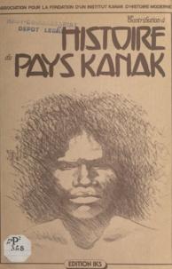 Association pour la fondation et Eloi Tchoëaoua - Contribution à l'histoire du pays Kanak.