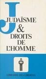 Association pour le développem et  Colloque de l'association pour - Judaïsme et droits de l'homme - Actes.