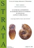 Roger Martin et Arnaud Martin - Strata N° 52/2015 : Le genre Bullatimorphites du Bathonien moyen et supérieur du mâconnais (Saône et Loire, France).