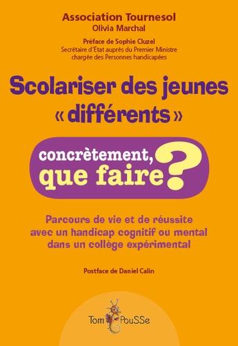 """Association Tournesol et Olivia Marchal - Scolariser des jeunes """"différents""""."""