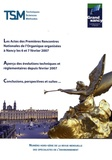 Emmanuel Adler - Techniques Sciences Méthodes N° hors-série : Actes des Premières Rencontres Nationales de l'Organique - Nancy les 6 et 7 février 2007.