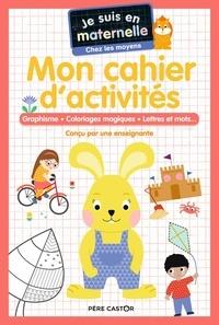 Astrid Chef d'hotel et Gaël Le Neillon - Je suis en maternelle chez les moyens - Mon cahier d'activités.