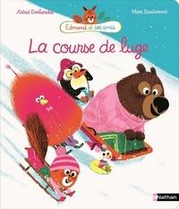Astrid Desbordes et Marc Boutavant - La course de luge.