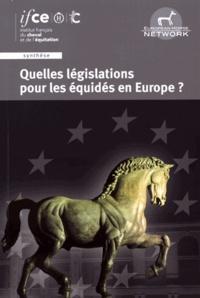 Astrid Engelsen - Quelles législations pour les équidés en Europe ? - Bilan et perspectives sur 5 thématiques phares.